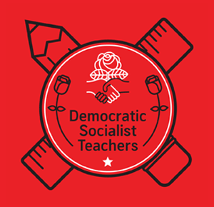 democratic socialist teachers logo
